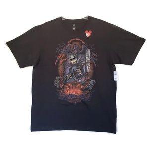 Disney Men's Classic Fit Jack Skellington T-shirt